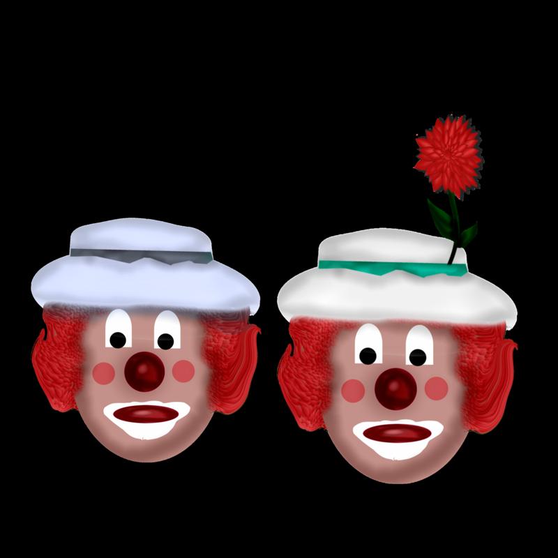 Clown duo