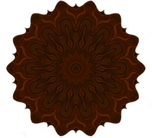 Mahogany_button